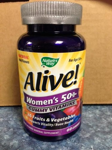 Nature`S Way Alive! Women`S 50+ Gummy Vitamins 60 Ct (Pack Of 4)