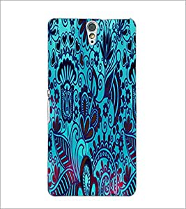 PrintDhaba Pattern D-2833 Back Case Cover for SONY XPERIA C5 ULTRA (Multi-Coloured)