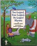 Two-Legged, Four-Legged, No-Legged Rhymes (0679807713) by J. Patrick Lewis
