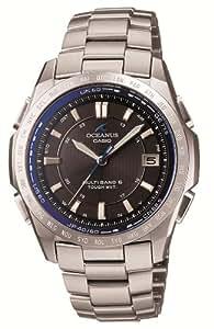 [カシオ]CASIO 腕時計 OCEANUS オシアナス Classic Line クラシックライン タフソーラー TOUGH MVT MULTIBAND6 電波時計 3年保証 OCW-T100TD-1AJF メンズ