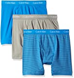 Calvin Klein Mens 3-Pack Cotton Stretch Boxer Brief