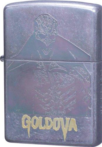 ZIPPO (Zippo) nirasawa Yasushi world collection gold bar double-sided etched barrel finishing YNW-Gold Bar B type