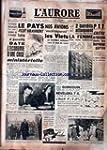 AURORE (L') [No 2892] du 29/12/1953 -...