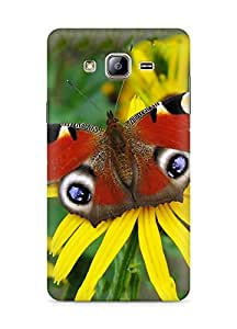 Amez designer printed 3d premium high quality back case cover for Samsung Galaxy ON5 (Peacock butterfly)