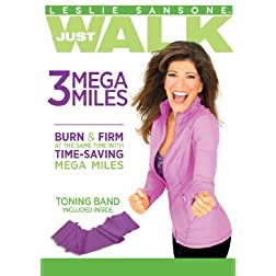 Leslie Sansone: 3 Mega Miles with Toning Band
