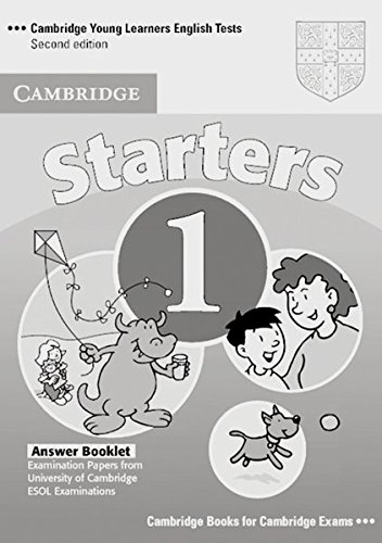 cambridge-young-learners-english-tests-starters-1-answer-booklet