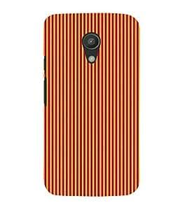 Stripe Pattern 3D Hard Polycarbonate Designer Back Case Cover for Motorola Moto G2 X1068 :: Motorola Moto G (2nd Gen)