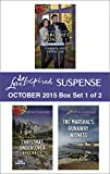 Love Inspired Suspense October 2015 - Box Set 1 of 2: Her Holiday Protector\Christmas Undercover\The Marshal's Runaway Witness (Men of Millbrook Lake)
