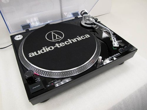 Audio-Technica AT-LP120-USB Direct-Drive Professional Turntable Black (USB & Analog)
