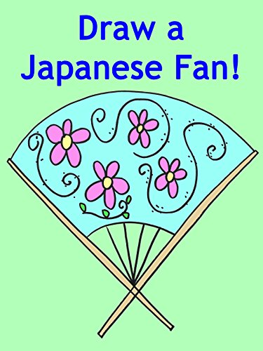 Learn How to Draw a Japanese Fan for Children and Beginners