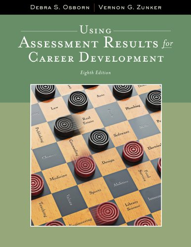 Using Assessment Results for Career Development (Graduate...