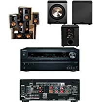 Klipsch RB-51II Home Theater Bundle-Onkyo TX-NR626 7.2 Channel -FREE PL-200
