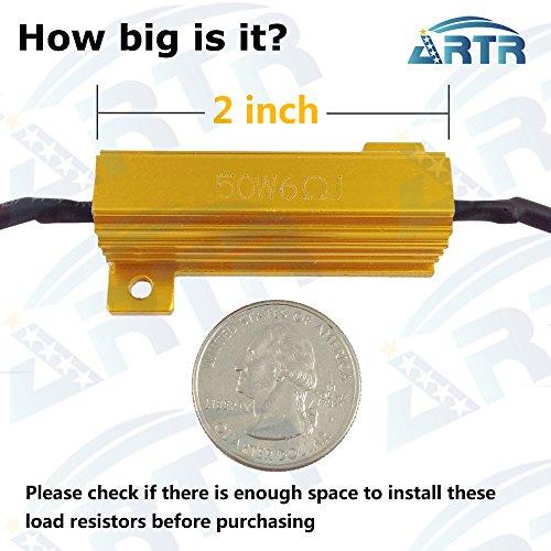 Резисторы 4PCS ARTR 50W 6ohm