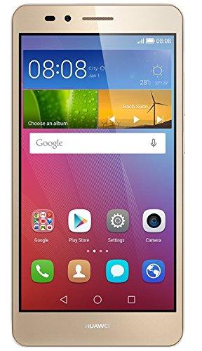 Huawei SIMフリースマートフォン GR5 16GB (Android 5.1/オクタコア/5.5inch/micro SIM) ゴールド KII-L22-GOLD S-SIMSET [OCN モバイル ONE SMS対応micro SIM付] KII-L22-GOLDS-SIMSET