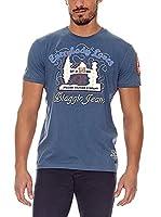 BIAGGIO Camiseta Manga Corta Loupasif (Azul)