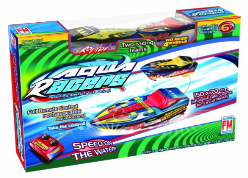 Fotorama Radio Control Aqua Racers Boat Racing Game - 1