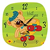 Hoopoe Decor Kids Time Trendy Designer Wall Clock