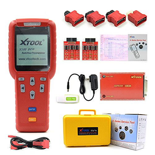 Original XTOOL X100 Pro Auto Key Programmer X-100 Key Programmer For Car's ECU Immobilizer Pin Code Reader X 100 Update Online Multi Brand Cars Get Eeprom adaptor free