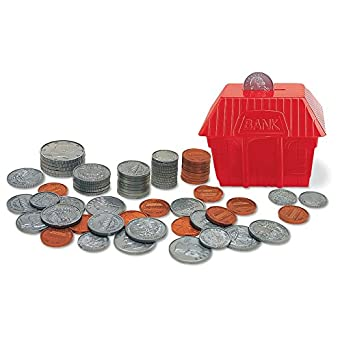 realistic play money coins