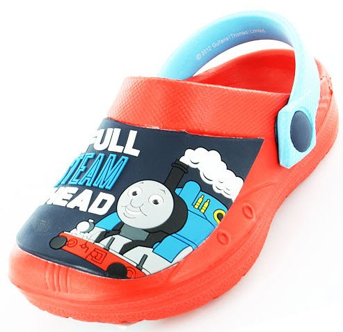 Boys Kids Thomas The Tank Cartoon Character Casual