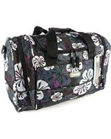 "Hi-Tec Ladies 18"" FLORAL HOLDALL GYM TRAVEL Hand Luggage BAG 4 Colours"