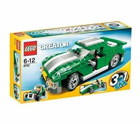 Lego - 6743 - Jeu de construction - Lego Creator - Le bolide vert