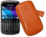 Suncase Original Case with Pull-Up Strap Genuine Leather for BlackBerry Bold 9790