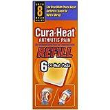Cura-Heat Arthritis Pain Refill - 6-Pack