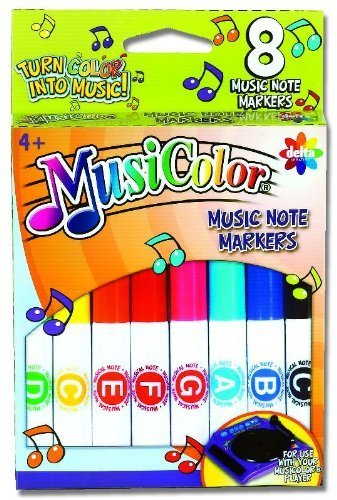 Works With Musicolor Player Sold Separately - MusiColor Markers 2 Pack