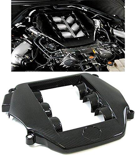 Carparts-Online GmbH 26570 MOTORABDECKUNG COVER ECHT CARBON