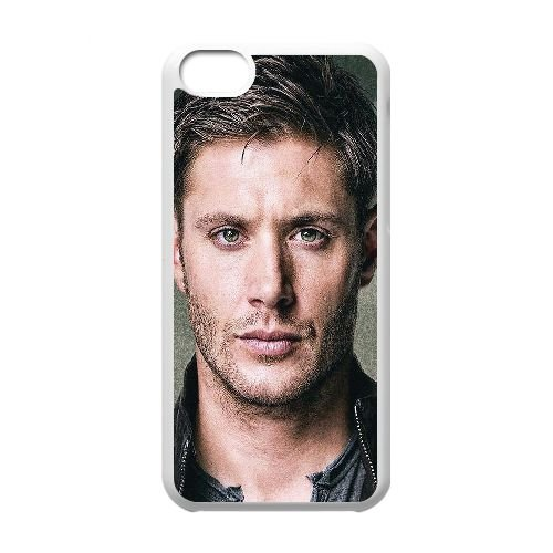 iPhone 5c Cell Phone Case White ha16 dean winchester paint film face FY1558046