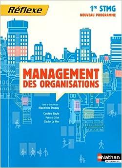 des organisations 1ere stmg (pochette) eleve 2012 (French) Paperback