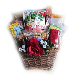 Amazon.com : Heart-Healthy Valentine's Day Gift Basket ...