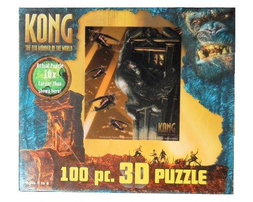 Kong 100 Pc 3d Puzzle - 1