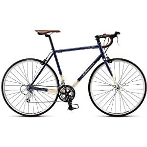 Schwinn Le Tour Classic Road Bike,Blue/Cream,XL
