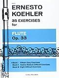 ケーラー : フルートのための35の練習曲 第1巻/カール・フィッシャー社
