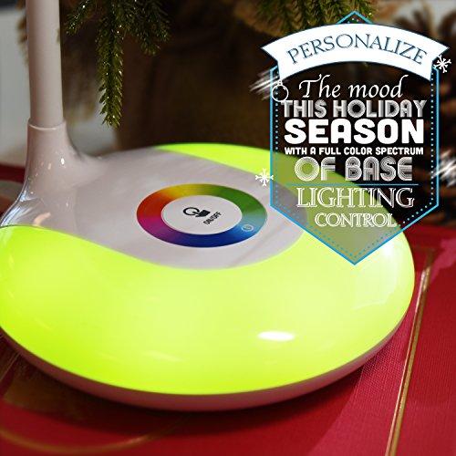 etekcity wireless dimmable color led desk lamp control panel color changing base 3 adjustable brightness