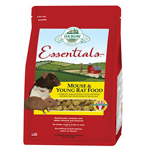 Oxbow Essentials - Mouse and Young Rat 2.5 Pounds (Mouse Food compare prices)