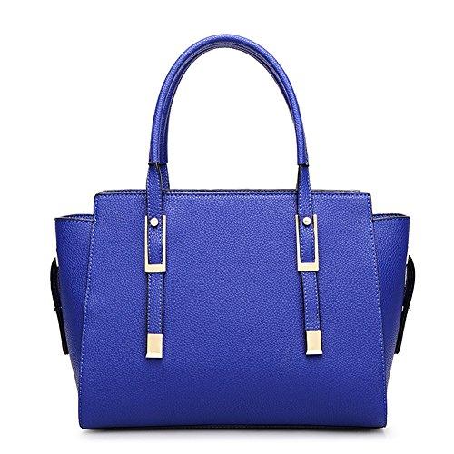 top-shop-womens-leather-handbags-evening-shoulder-bags-blue-hobo-totes