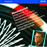 """Shostakovich: Symphony No.15 """"From Jewish Folk Poetry"""""""