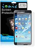 Ionic Samsung Galaxy Note 3 Screen Protector Film Invisible (Clear) (3-pack)