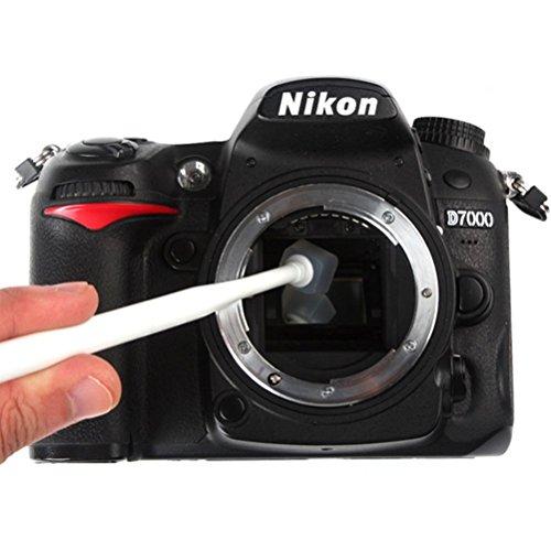 LEORX Wet sensore kit di pulizia, Sensore CCD/CMOS Cleaner per DSLR SLR Fotocamera Digitale (colori casuali)