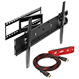 Mount Factory Articulating Tilting Full Motion TV Wall Mount for 40 / 65- Inch TV