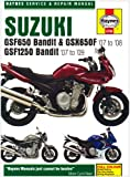 Suzuki GSF650/1250 Bandit and GSX650Fservice and Repair Manual: 2007 to 2009 (Haynes Service and Repair Manuals) Phil Mather