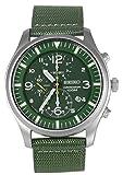 セイコー SEIKO クロノ クオーツ メンズ 腕時計 SNDA27P1 グリーン [並行輸入品]