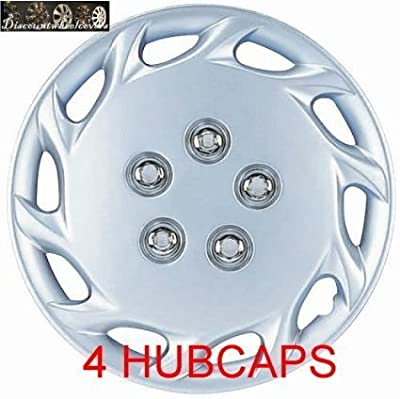 "14"" Set Of 4 Universal Hubcaps Toyota Camry Wheel Covers Design Are Universal Hub Caps Fit Most 14 Inch Wheels 1995 1996 1997 1998 1999"