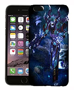 FCS Printed 3D Designer Hard Back Case For Apple iPhone 6 With Universal Mobile Stand