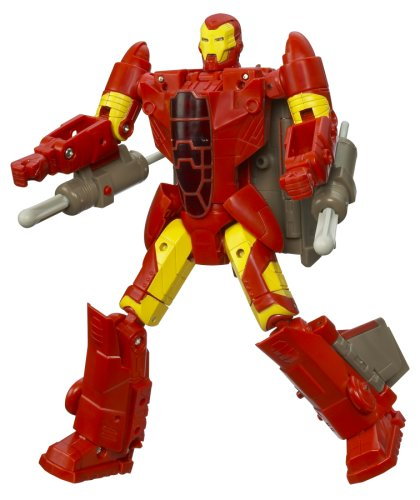 Marvel Transformers Crossovers - Fighter Jet to Iron Man, Red Costume (Transformers Marvel Crossovers compare prices)