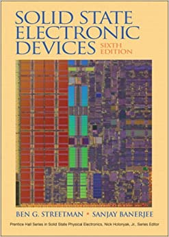 Solid State Electronic Devices 6th Edition Ben