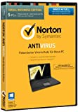 Software - Norton Antivirus 2014 - 5 PCs (DVD-Box)
